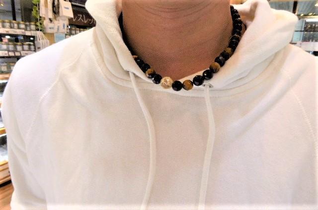 千葉県パワーストーン ネックレスお作りありがとう。ご新規K君