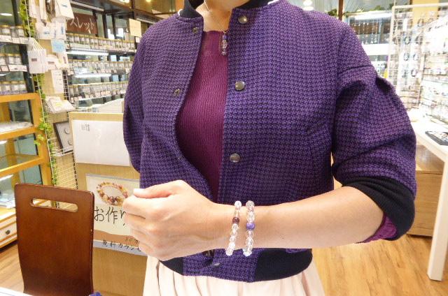 千葉県 パワーストーンも、モデルさんクラスのセンスを持つ女性!T様!今回は、ピンクトルマリンでしたね。