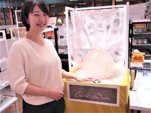 錦糸町 丸井店に浄化スポット現れる! そして第1号の S様!おめでとう! 今日も、素敵な笑顔ですよ。