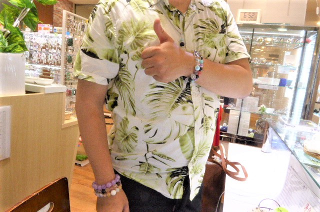 千葉県 津田沼店のH君 ギャンブル運が絶好調。今日も素敵な、石に出会い、そして激レアなお客様にも出会えた、