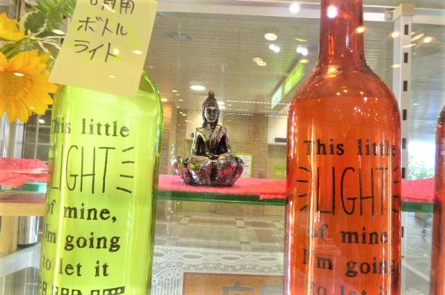 8月の津田沼店のチベットの観音菩薩様 ボトルライト 出そろいました。VIP様忘れずに。