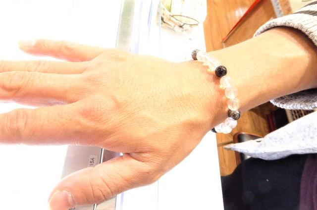 千葉県 津田沼店のVIP様、 私と、とても気の合う男性H君!今日は、パワーストーンの波動を!